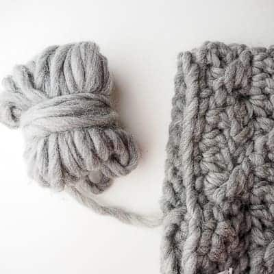 cozy cowl materials needed