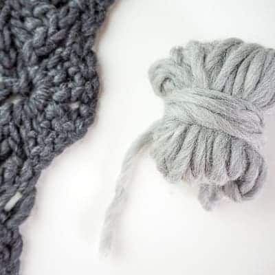 flowery cowl materials needed