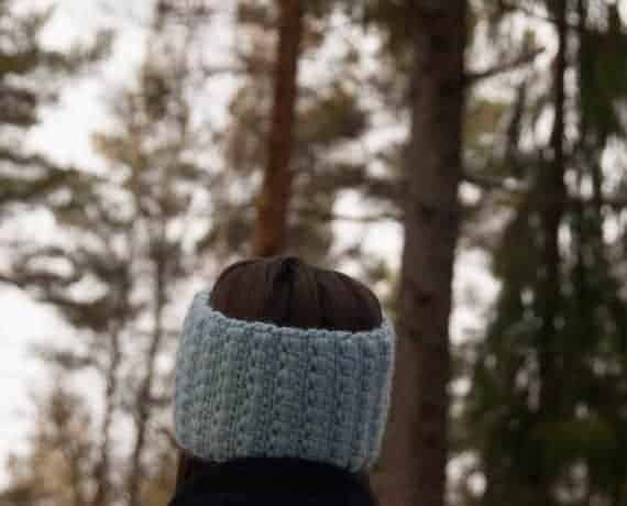 Headband Crochet Pattern Design – Skill Level Easy