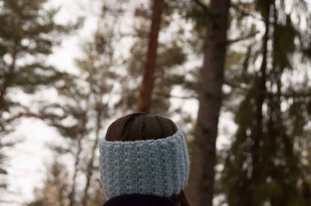 headband crochet pattern design