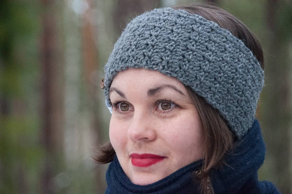 Bellus Headband by Janne @ Joy of Motion Crochet