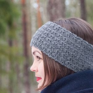 bellus headband crochet pattern design