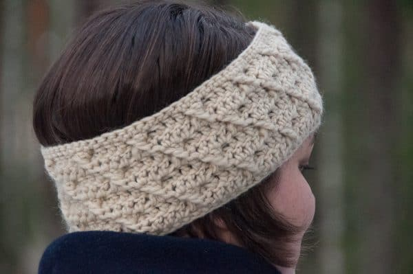 crochet headband with cross pattern crochet pattern design