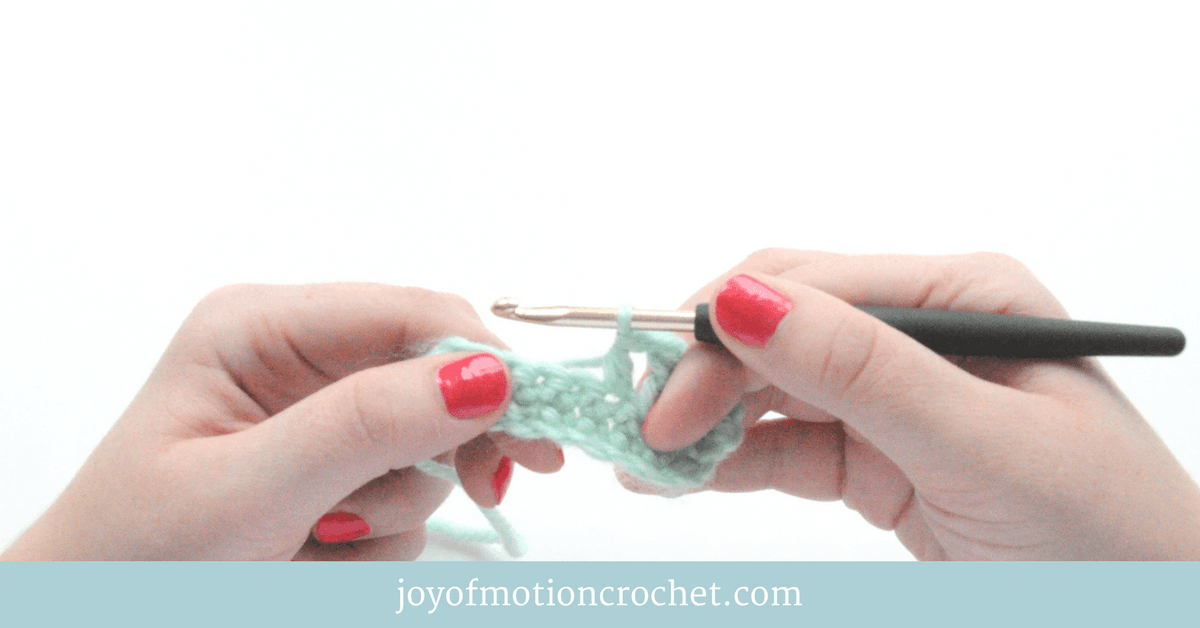 Beginner Crochet Stitches Picture Video Tutorials Joy Of Motion