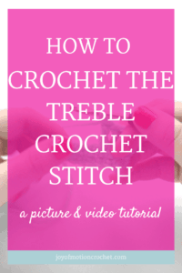 how to crochet the treble crochet