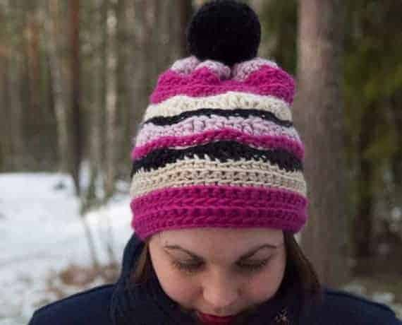 Nix Hat Crochet Pattern Design – Skill Level Easy