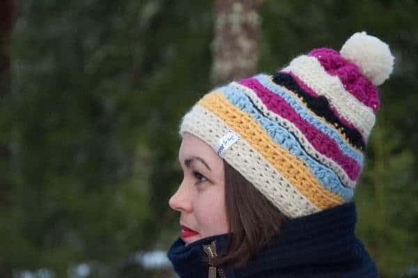 nix hat crochet pattern design