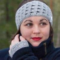 delicatus headband crochet pattern design