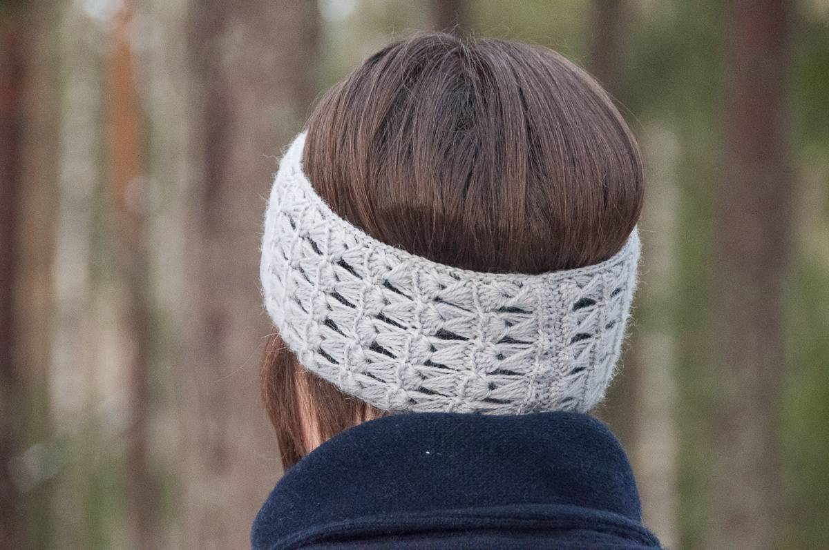 crochet delicatus headband crochet pattern design