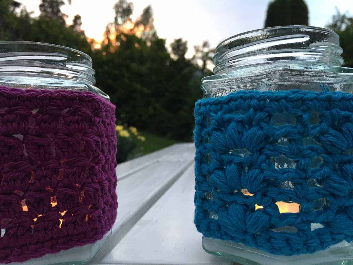mason jar covers crochet pattern