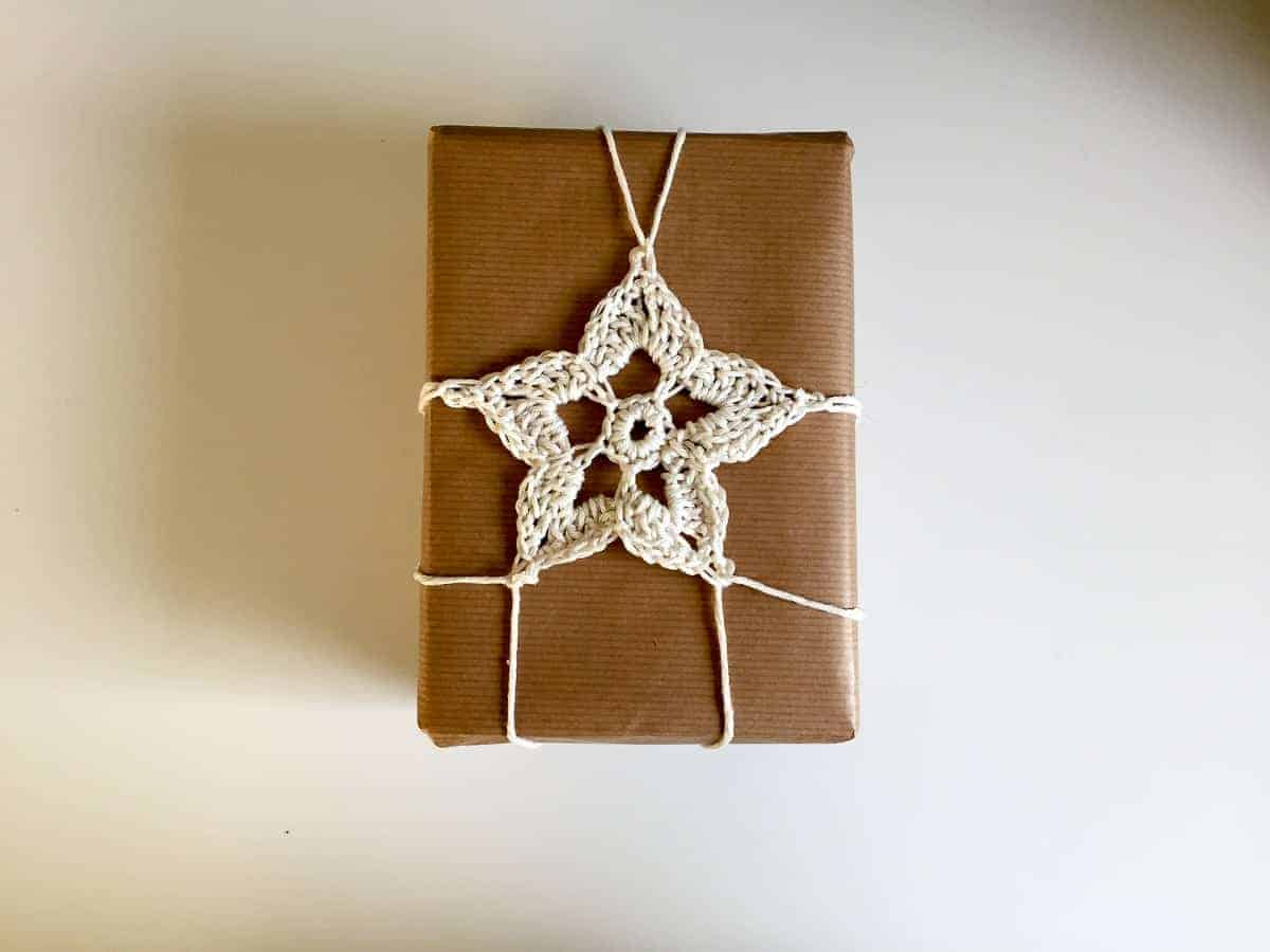 Christmas Wrapping Crochet Patterns Easy Crochet Joy