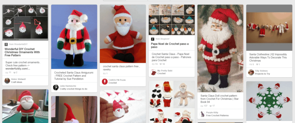 christmas crochet ideas