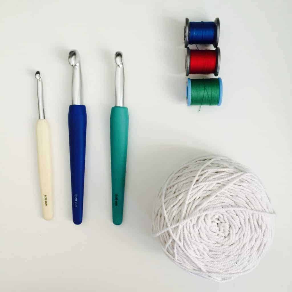 one skein crochet projects - ergonomic crochet hooks