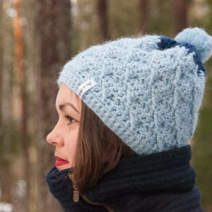 genus hat crochet pattern design