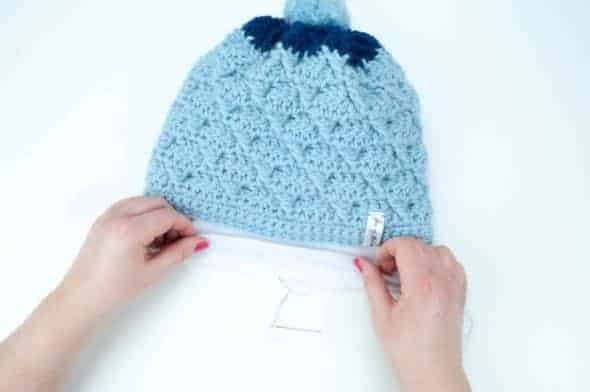 how to line a hat