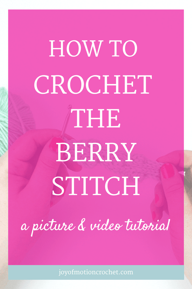 How to crochet the berry stitch. crochet | crochet instructions | crochet stitch | crochet stitches guide | crochet stitches tutorial | different crochet stitches | how to do crochet stitches | interesting crochet stitches | pretty crochet stitches | textured crochet stitches |  how to crochet the berry stitch | crochet berry stitch | berry stitch crochet tutorial |  crochet picture tutorial | crochet video tutorial | Learn to crochet guide | Free Crochet Tutorials | Free crochet tutorial | Free Crochet Guides | Crochet tutorial with Pictures | Crochet Tutorials | Crochet guide with video | Crochet Guides Link | Crochet Guides | intermediate crochet stitch