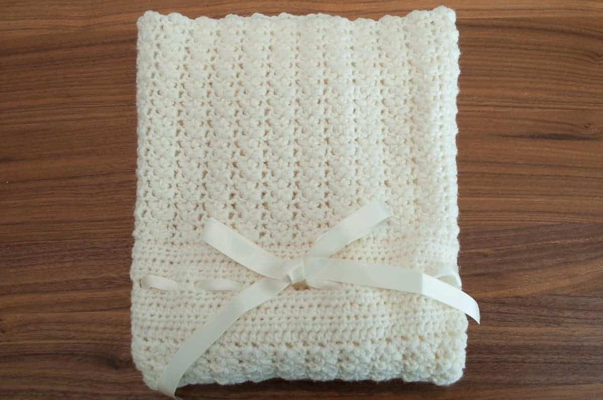 Minimis Stroller Blanket Crochet Pattern Design – Skill Level Easy