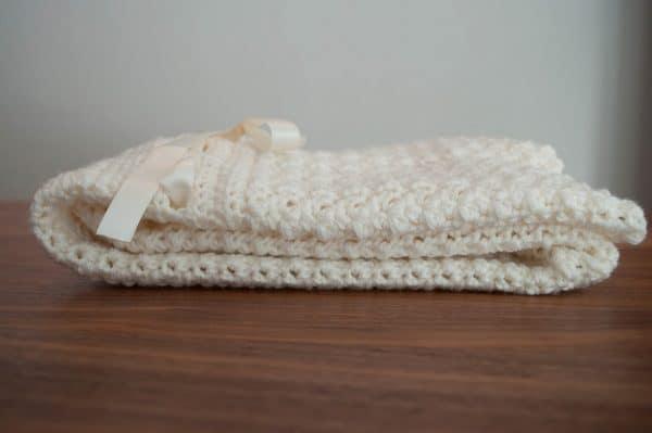 minimis stroller blanket crochet pattern design