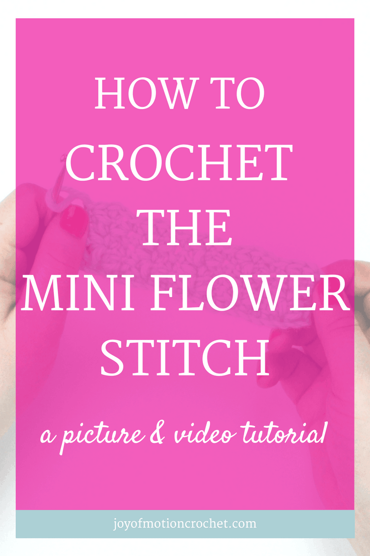 How to crochet the mini flower stitch. Free Crochet Tutorials |Free crochet tutorial | Free Crochet Guides |Easy crochet tutorial | Crochet tutorial with Pictures | Crochet Tutorials | Crochet guide with video |Crochet Guides Link |Crochet Guides |crochet mini flower stitch |mini flower crochet stitch |intermediate crochet stitch |crochet |crochet instructions | crochet stitch |crochet stitches guide |crochet stitches Intermediate | crochet stitches tutorial |different crochet stitches | how to do crochet stitches | interesting crochet stitches | learn crochet | mini flower stitch | pretty crochet stitches | textured crochet stitches | crochet video tutorial | crochet picture tutorial | Learn to crochet guide | how to crochet