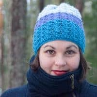 risum hat crochet pattern design