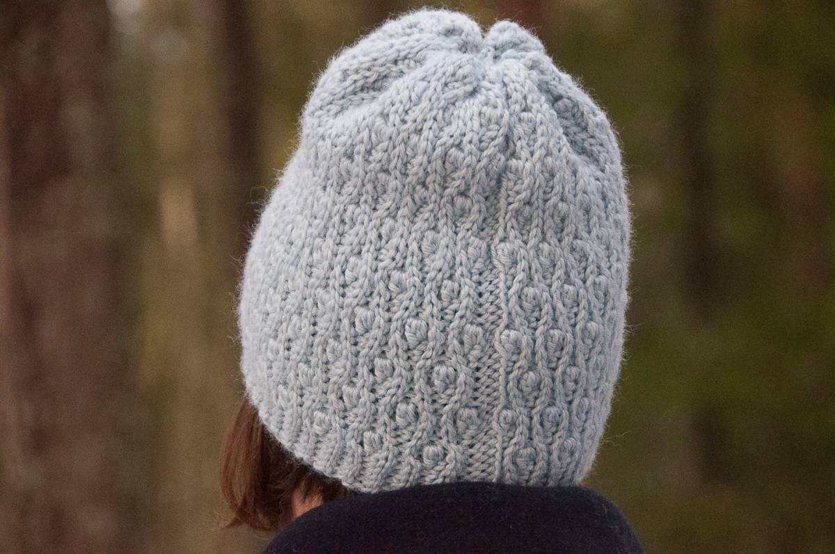mitis hat crochet pattern design