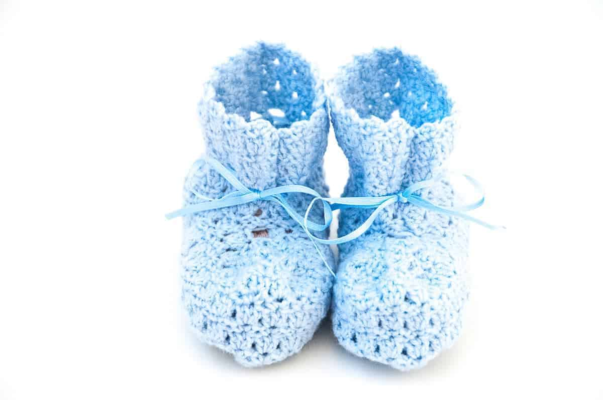 Baby Boots Crochet Pattern Design – Skill Level Easy