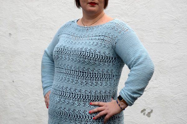 coelum sweater crochet pattern design