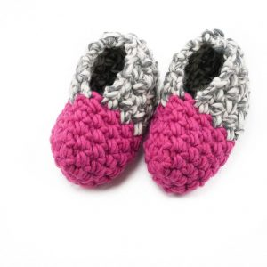 cozy slippers crochet pattern design