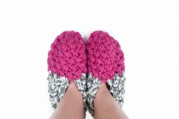 really warm winter bundle cozy slippers crochet pattern design
