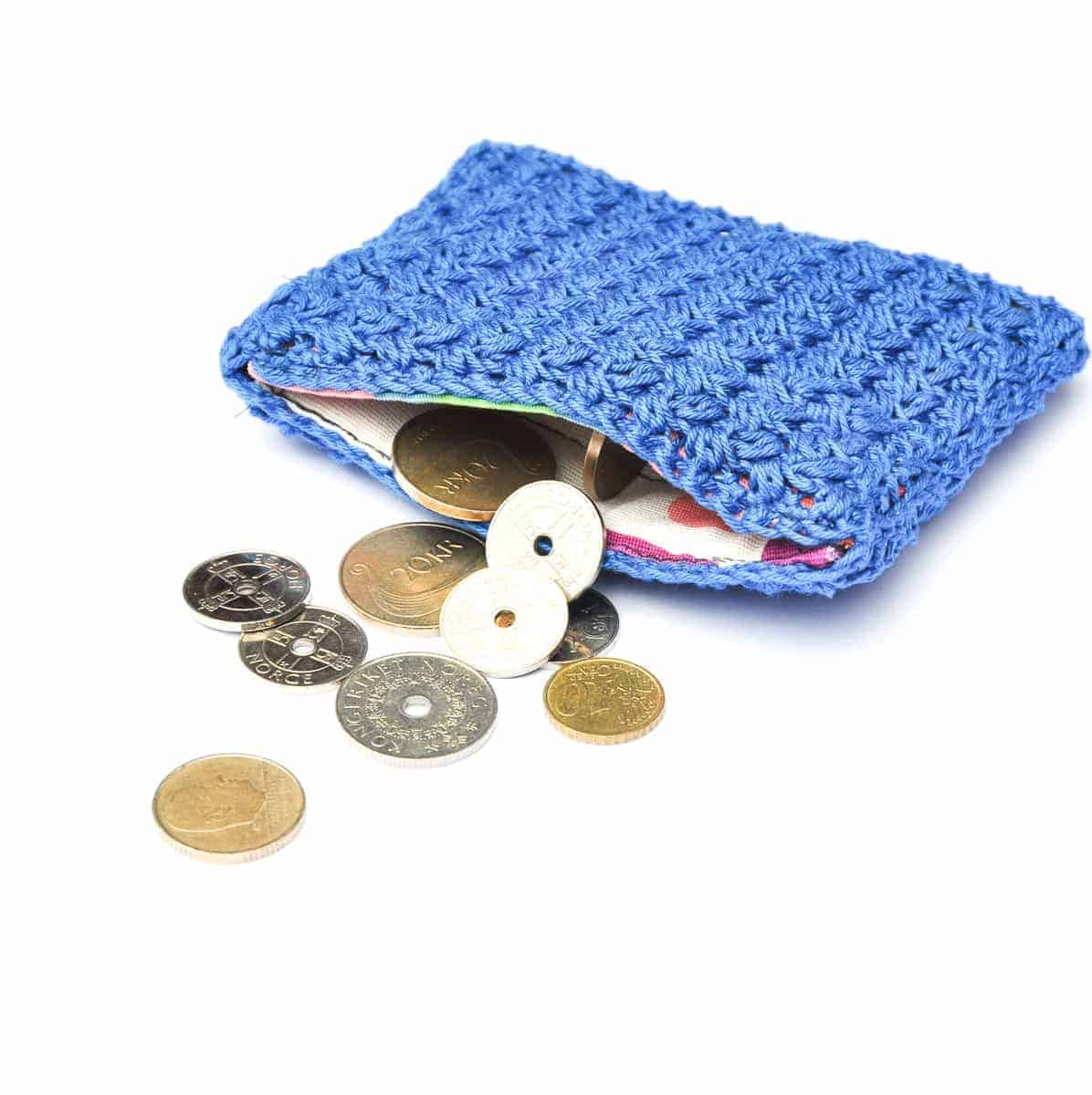 credit card and coin purse crochet pattern design