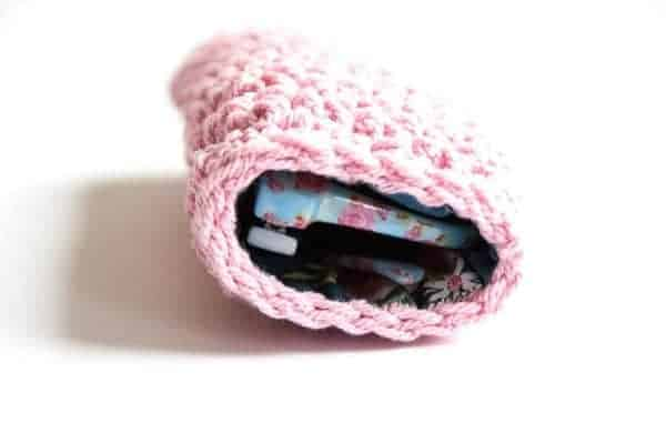 cute sunglasses pouch crochet pattern design