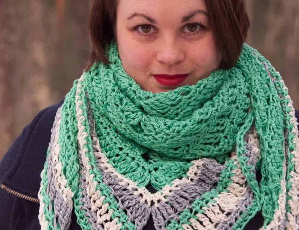 Decorus Shawl Crochet Pattern Design Skill Level Easy Joy Of Motion