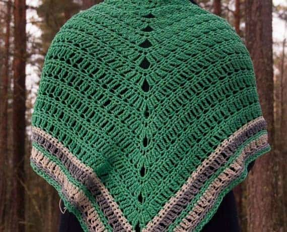 Decorus Shawl Crochet Pattern Design – Skill Level Easy