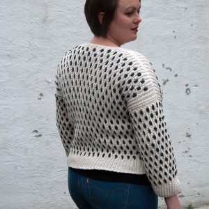 sidus cardigan crochet pattern design