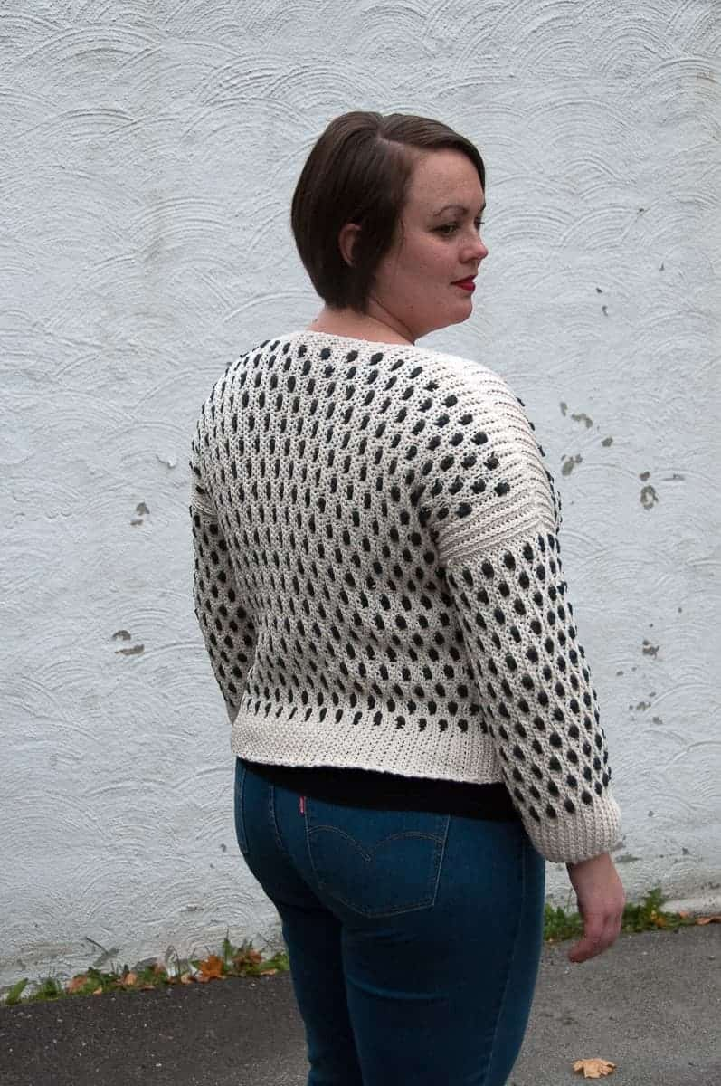 Sidus Cardigan Crochet Pattern Design – Skill Level Intermediate