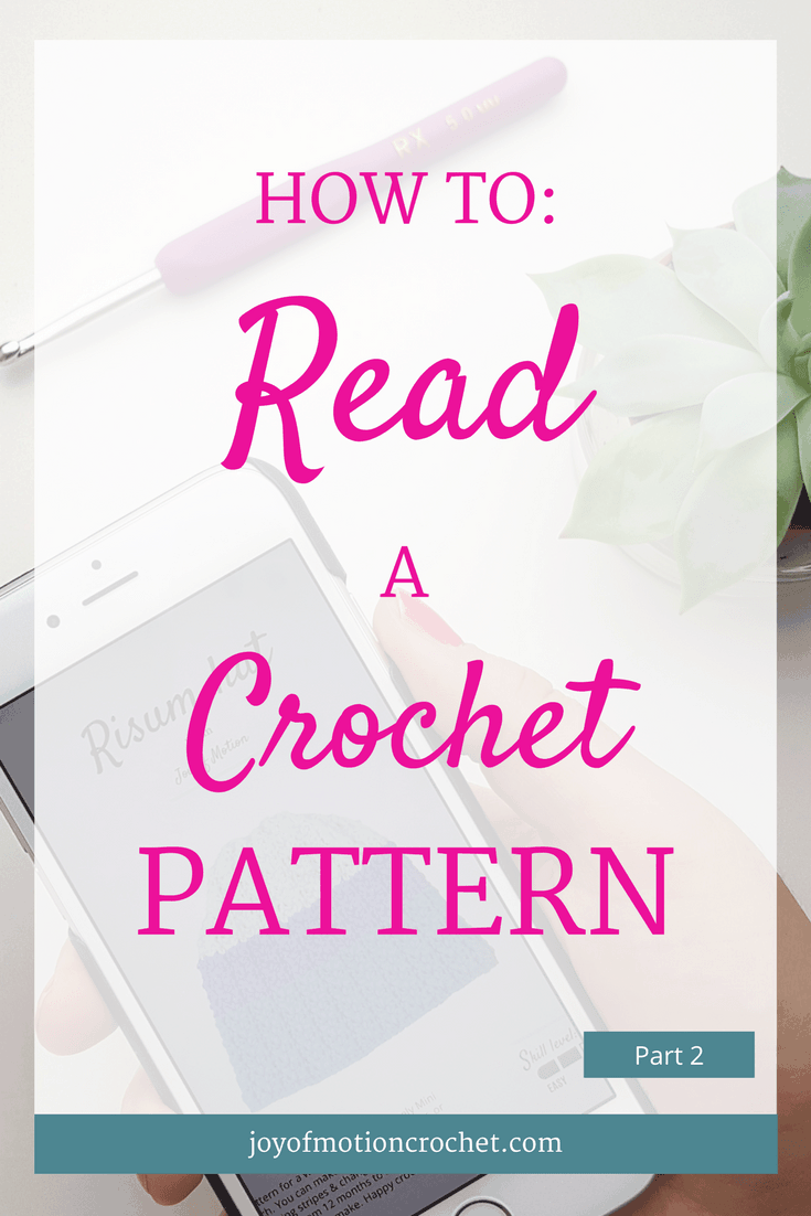 HOW TO: read a crochet pattern - part 2. Learn to read Crochet Patterns With Joy of Motion. Crochet Guides. Free Crochet Tutorials. Free Crochet Guides. Crochet Guides Link. Crochet Tutorials. Learn To Understand Crochet Patterns. Repin this to read, learn & keep it forever.