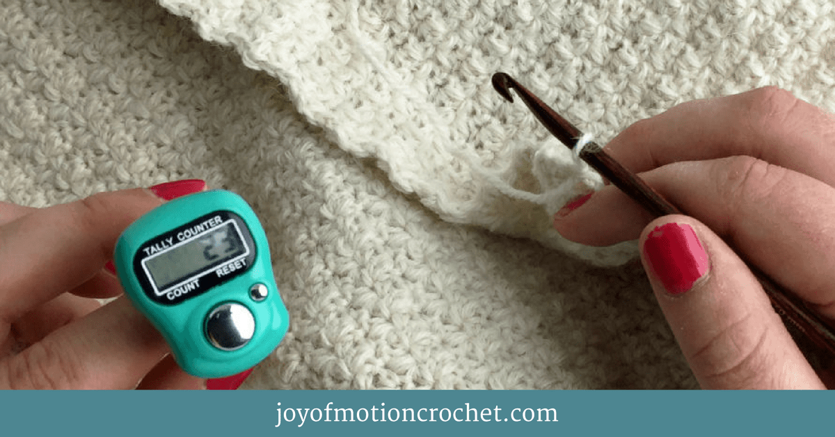 Keep Track of Row Count While Crocheting