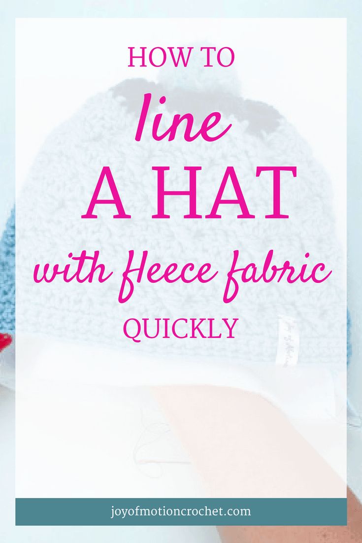 HOW TO: Line a Hat with Fleece Fabric. Learn how to line a handmade hat with fabric with Joy of Motion. Weave sew in. Crochet guides. Crochet tutorials. Free crochet tutorials. Free crochet guides. Crochet guides projects. Beginner Crochet Guides. Crochet Guides Link. Repin this to read, learn & keep it forever.