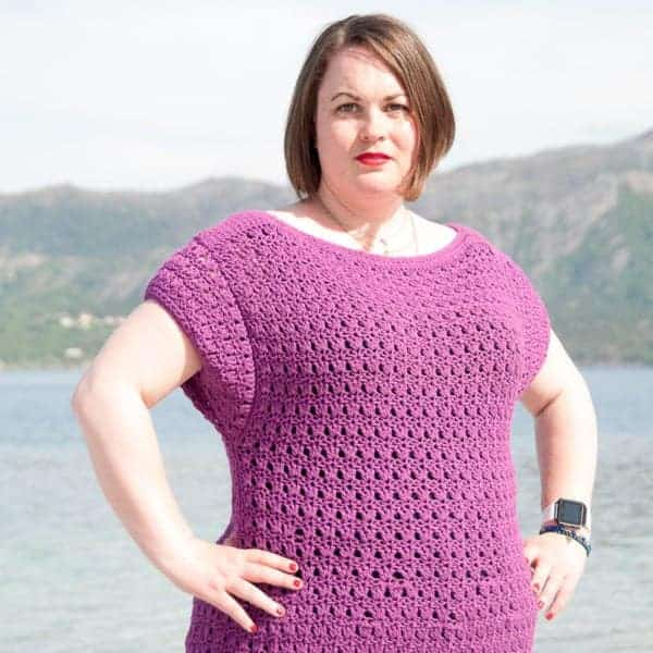 choro top crochet pattern design