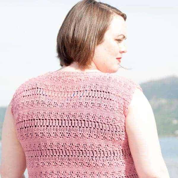 coelum top crochet pattern design