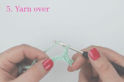 how to crochet the berry stitch