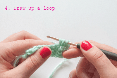 how to crochet the bubblepattern