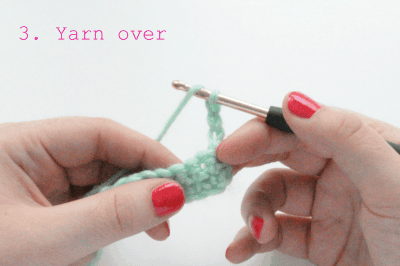 how to crochet the double double crochet stitch