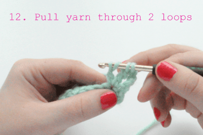 how to crochet the double treble crochet stitch