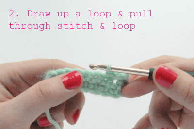 how to crochet the slip stitch