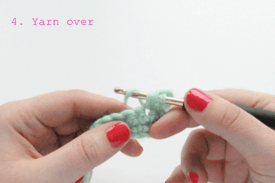 how to crochet the split clusters stitch