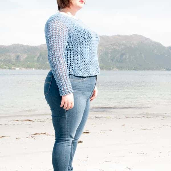 saltus sweater crochet pattern