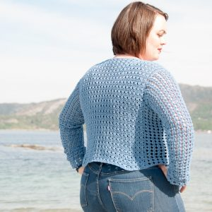Lacy Cotton Women's Bundle saltus sweater crochet pattern