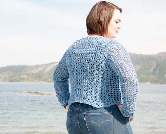 Saltus Sweater Crochet Pattern Design – Skill Level Easy