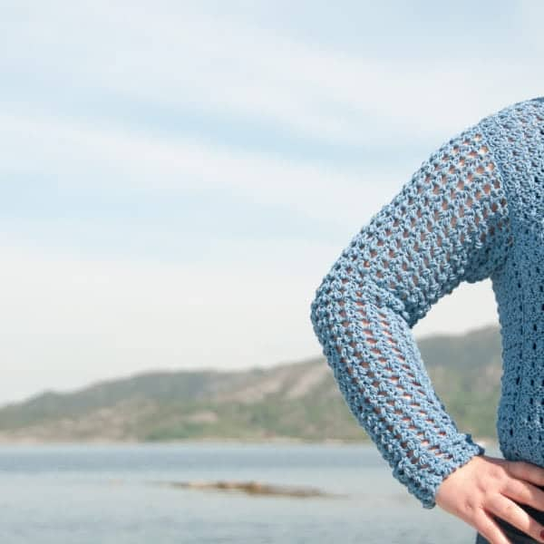 saltus sweater crochet pattern choose yarn for crochet garment